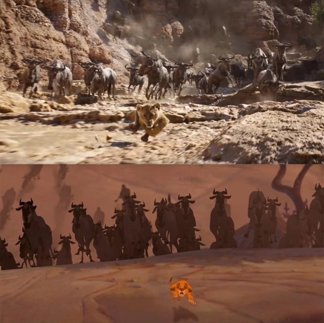 """18 khoảnh khắc đẹp không đổi thay của """"Vua sư tử"""" qua hai phiên bản - 10"""