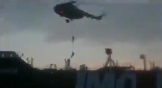 """Video Iran vây bắt tàu dầu Anh """"như phim hành động"""" - 1"""