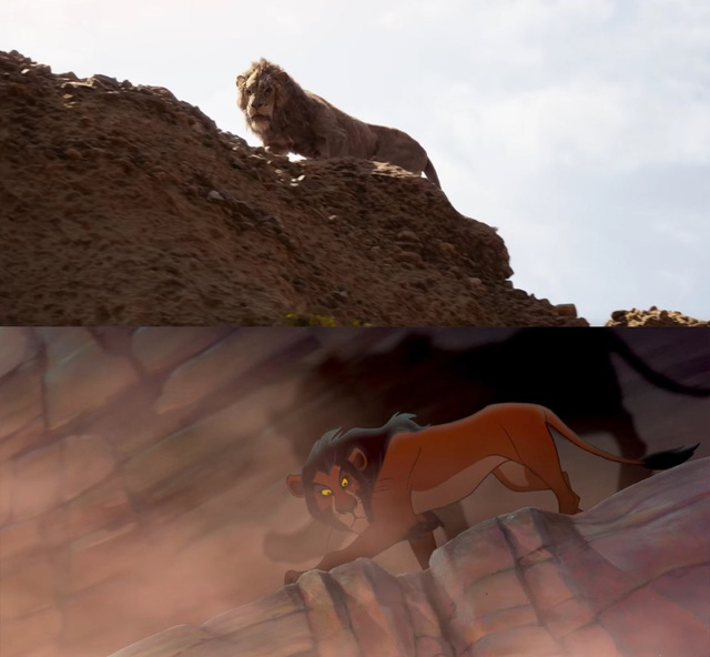 """18 khoảnh khắc đẹp không đổi thay của """"Vua sư tử"""" qua hai phiên bản - 11"""