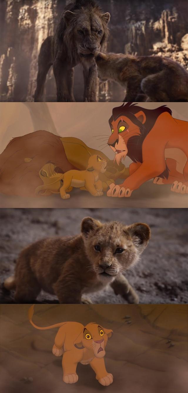 """18 khoảnh khắc đẹp không đổi thay của """"Vua sư tử"""" qua hai phiên bản - 12"""