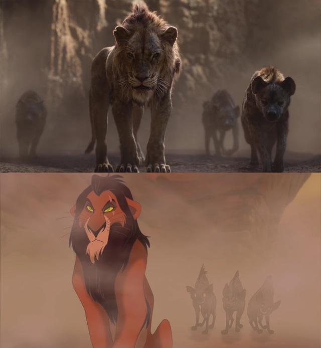 """18 khoảnh khắc đẹp không đổi thay của """"Vua sư tử"""" qua hai phiên bản - 13"""