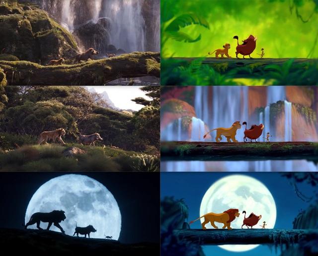 """18 khoảnh khắc đẹp không đổi thay của """"Vua sư tử"""" qua hai phiên bản - 14"""
