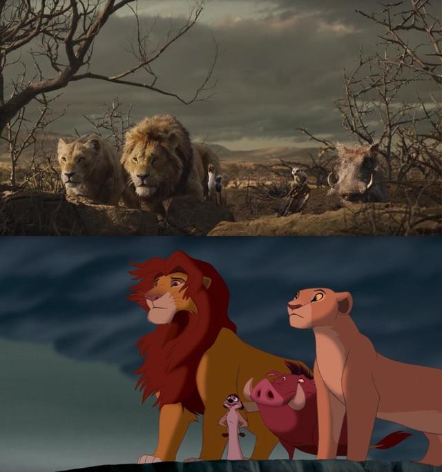 """18 khoảnh khắc đẹp không đổi thay của """"Vua sư tử"""" qua hai phiên bản - 16"""