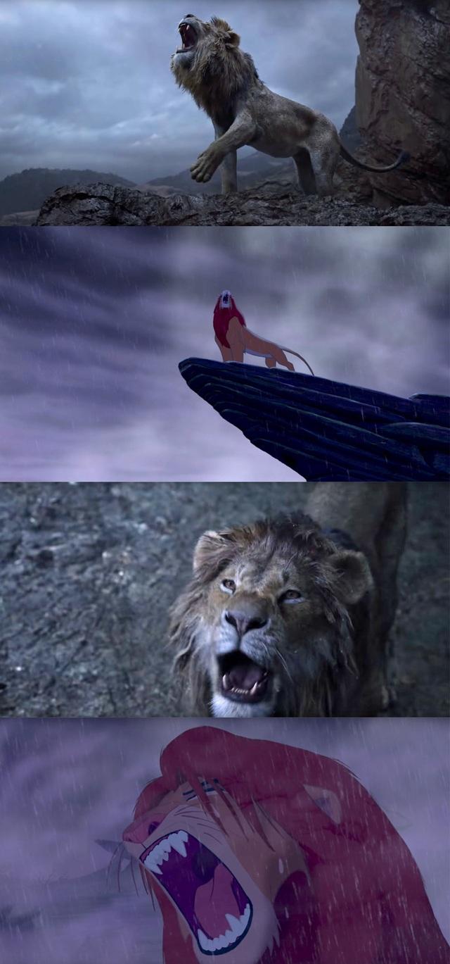 """18 khoảnh khắc đẹp không đổi thay của """"Vua sư tử"""" qua hai phiên bản - 17"""