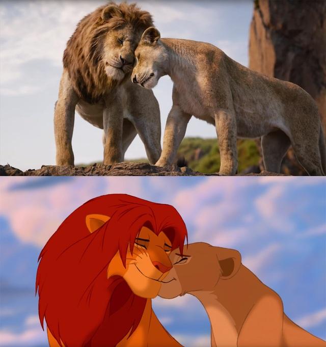 """18 khoảnh khắc đẹp không đổi thay của """"Vua sư tử"""" qua hai phiên bản - 18"""