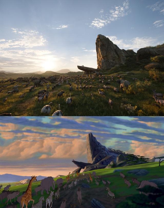 """18 khoảnh khắc đẹp không đổi thay của """"Vua sư tử"""" qua hai phiên bản - 1"""