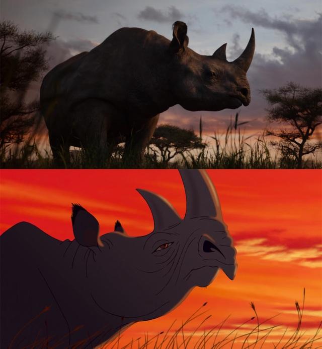 """18 khoảnh khắc đẹp không đổi thay của """"Vua sư tử"""" qua hai phiên bản - 2"""