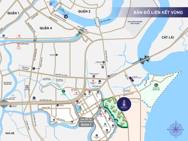 """Sunshine City Sài Gòn nối dài """"đại lộ quốc tế"""" tại khu vực Nam Sài Gòn - 1"""