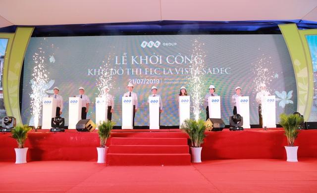Tập đoàn FLC khởi công khu đô thị hiện đại hàng đầu tại Đồng Tháp - 1
