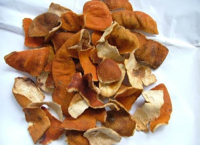 Pick up tangerine peel, bake the ground 6 years after digging and sell 6 million VND / kg - 2
