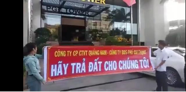 Đà Nẵng: Khách hàng phản đối mức bồi thường của doanh nghiệp bất động sản - 1