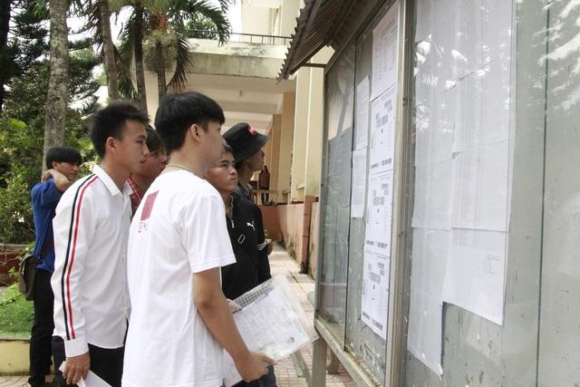 Trường ĐH Tây Nguyên công bố điểm sàn từ 14 - 21 điểm - 1