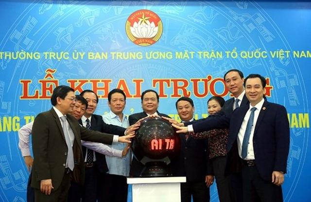 Khai trương Trang thông tin điện tử mới Mặt trận Tổ quốc Việt Nam - 1