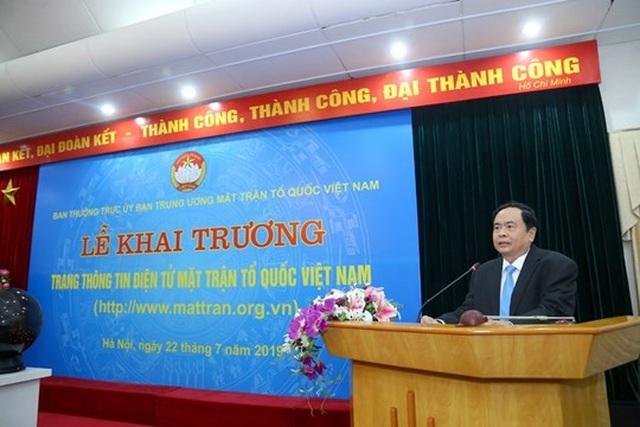 Khai trương Trang thông tin điện tử mới Mặt trận Tổ quốc Việt Nam - 3