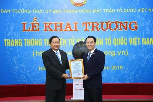 Khai trương Trang thông tin điện tử mới Mặt trận Tổ quốc Việt Nam - 5