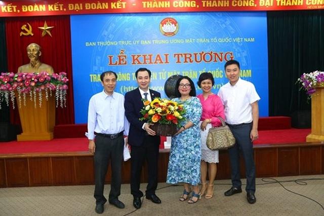 Khai trương Trang thông tin điện tử mới Mặt trận Tổ quốc Việt Nam - 6