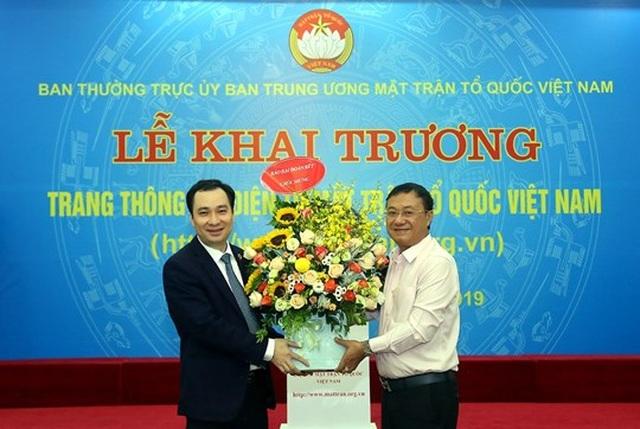 Khai trương Trang thông tin điện tử mới Mặt trận Tổ quốc Việt Nam - 7