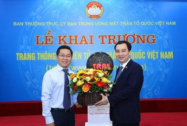 Khai trương Trang thông tin điện tử mới Mặt trận Tổ quốc Việt Nam - 8