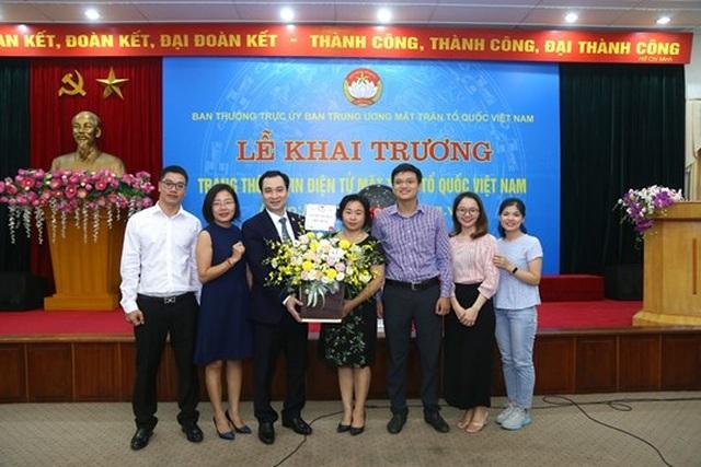 Khai trương Trang thông tin điện tử mới Mặt trận Tổ quốc Việt Nam - 9