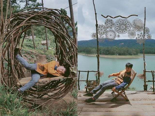 """Bộ ảnh """"ngủ gật"""" của 9x Bình Thuận gây """"bão mạng"""" vì tư thế tạo dáng khó đỡ - 4"""