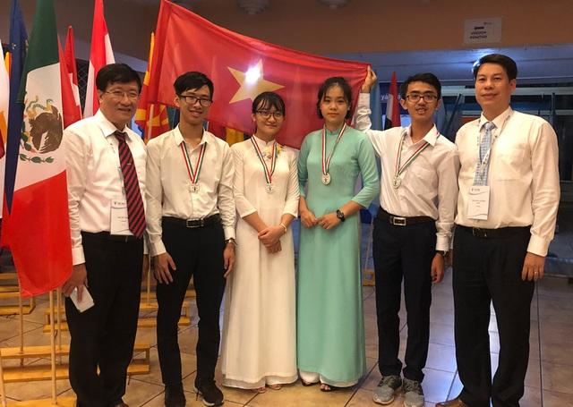 Olympic Sinh học quốc tế 2019: Việt Nam đoạt 1 Huy chương Bạc và 3 huy chương Đồng - 1