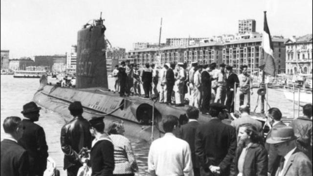 Pháp tìm thấy xác tàu ngầm mất tích chở 52 thủy thủ sau hơn nửa thế kỷ - 1
