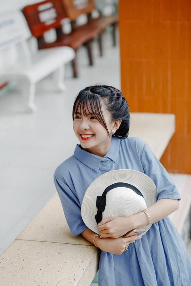 Thiếu nữ Bến Tre gây sốt mạng trong trang phục Campuchia - 6
