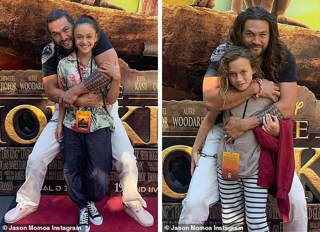 """Jason Momoa bật khóc nhiều lần trong buổi chiếu """"Vua sư tử"""" dành riêng cho gia đình - Ảnh minh hoạ 2"""