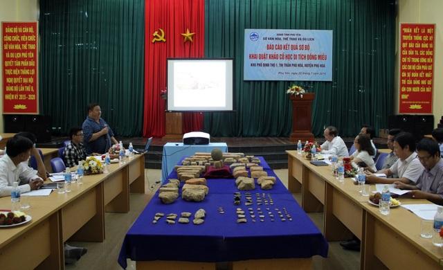 Di tích Đồng Miếu ở Phú Yên: Phát hiện phế tích Chăm Pa cổ nhất - 1