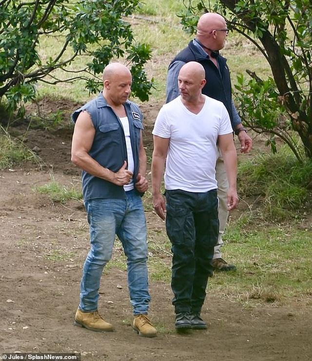 Vin Diesel khóc khi người đóng thế bị tai nạn - 1