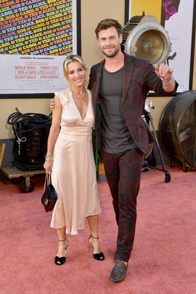 Chris Hemsworth đẹp đôi bên vợ hơn 7 tuổi - 3