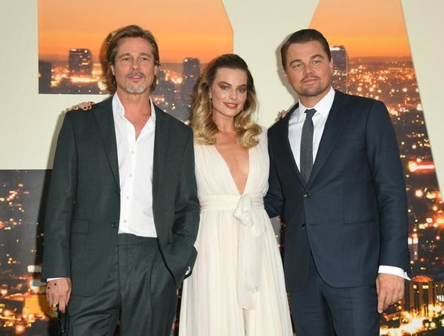 Leonardo DiCaprio và Brad Pitt lịch lãm dự công chiếu phim - 1