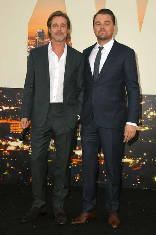 Leonardo DiCaprio và Brad Pitt lịch lãm dự công chiếu phim - 3