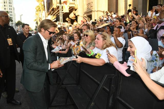 Leonardo DiCaprio và Brad Pitt lịch lãm dự công chiếu phim - 7