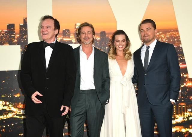 Leonardo DiCaprio và Brad Pitt lịch lãm dự công chiếu phim - 2