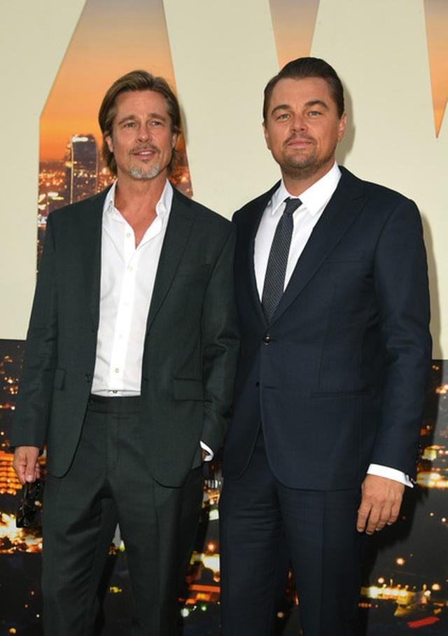 Leonardo DiCaprio và Brad Pitt lịch lãm dự công chiếu phim - 6