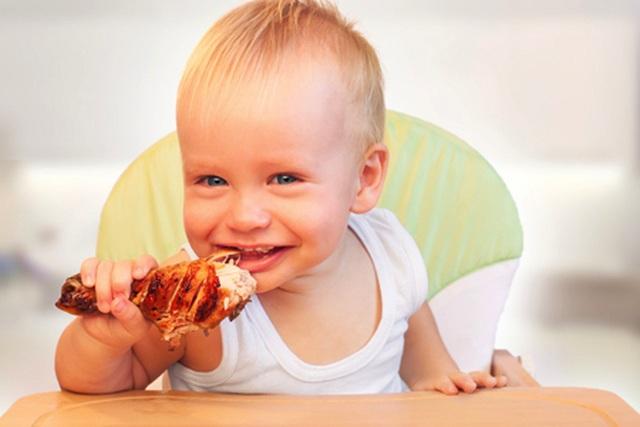Lợi ích không ngờ đến từ thịt gà dành cho trẻ - 1