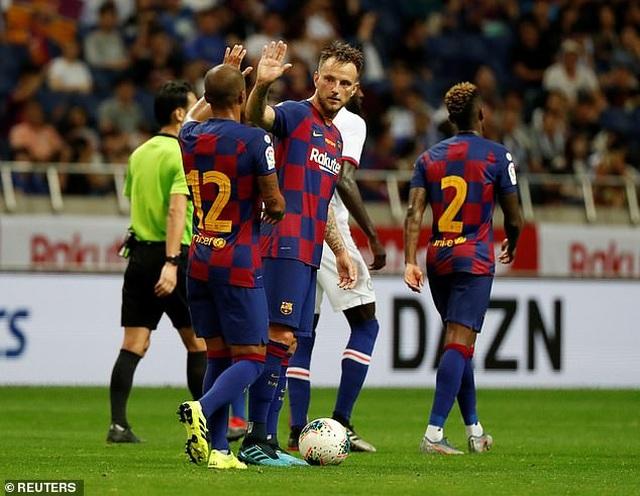 Griezmann ra mắt mờ nhạt, Barcelona nhận thất bại trước Chelsea - 5