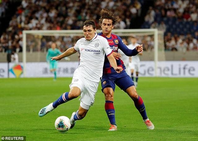Griezmann ra mắt mờ nhạt, Barcelona nhận thất bại trước Chelsea - 3