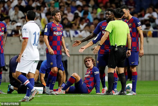 Griezmann ra mắt mờ nhạt, Barcelona nhận thất bại trước Chelsea - 1