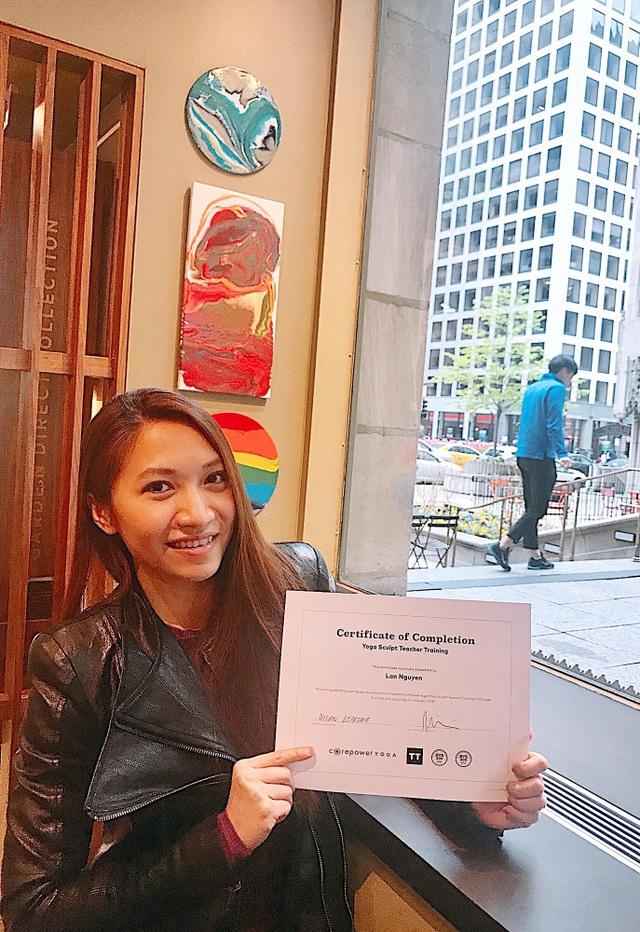 Cô gái năng động người Việt khẳng định mình trong lĩnh vực Yoga tại Mỹ - 2