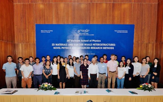 Trường học Vật lý Việt Nam, hội tụ các tài năng trẻ - 1