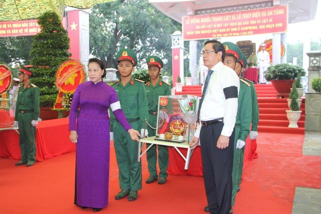 Tây Ninh: Truy điệu, an táng 245 hài cốt liệt sĩ - 2