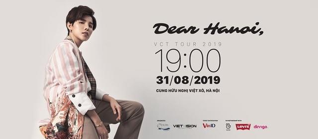 """Nhận quà đặc biệt khi săn vé concert """"Dear Hanoi"""" của Vũ Cát Tường qua VinID - 2"""