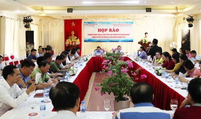 200 gian hàng của TP HCM được trưng bày trong tuần lễ giới thiệu sản phẩm tại Nghệ An - 1