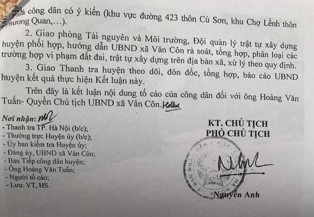 Hà Nội: Bát nháo vi phạm trật tự xây dựng, Chủ tịch xã lại bị yêu cầu... rút kinh nghiệm! - 3