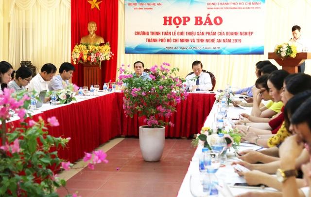 200 gian hàng của TP HCM được trưng bày trong tuần lễ giới thiệu sản phẩm tại Nghệ An - 2