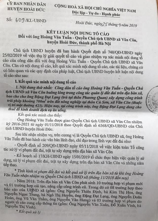 Hà Nội: Bát nháo vi phạm trật tự xây dựng, Chủ tịch xã lại bị yêu cầu... rút kinh nghiệm! - 2