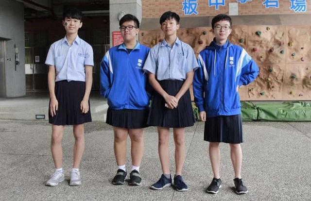 Nam sinh trung học ở Đài Loan được phép mặc… váy đi học - 2