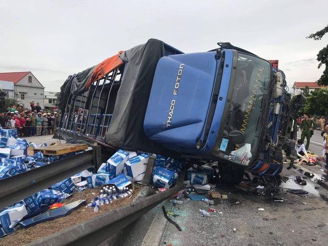 """Bộ trưởng GTVT: Hạn chế tốc độ xe container để """"chặn"""" tai nạn trên quốc lộ 5 - 2"""